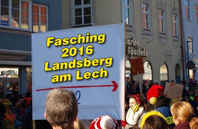 Gaudiwurm 2016, Lumpiger Donnerstag am 04.02.16 in Landsberg am Lech
